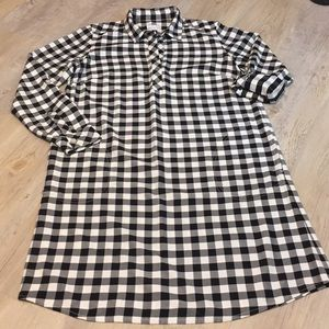 J Jill checkered dress